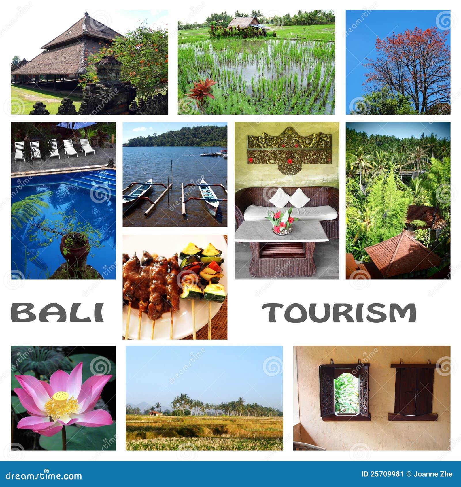 Bali tourism collage