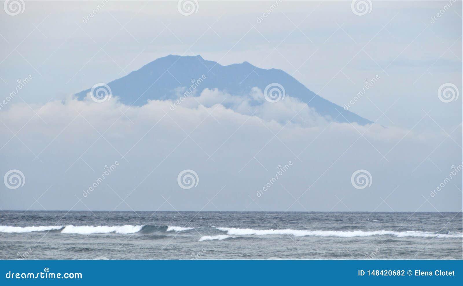 Bali vulkan, Indonesien