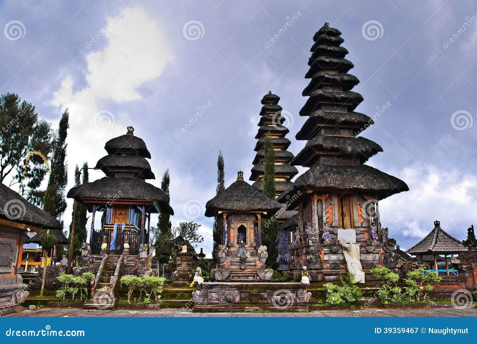 Balijczyk świątyni świątynie