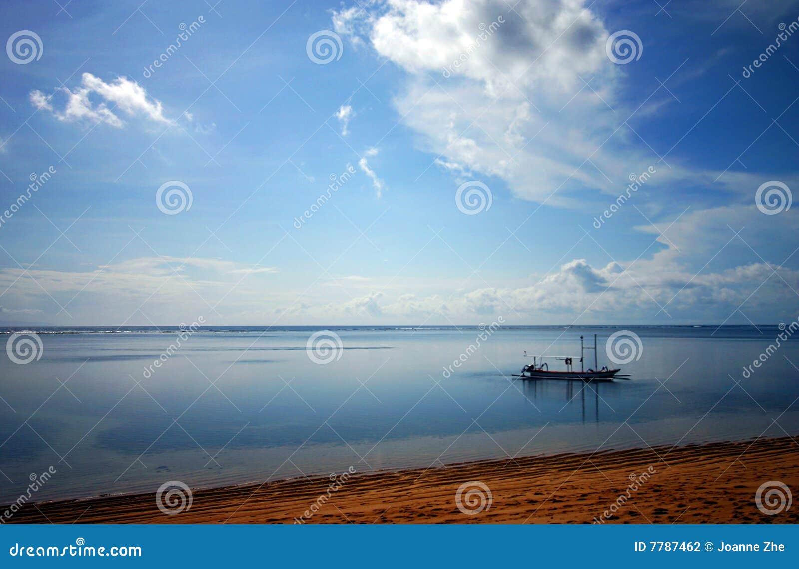 Balijczyka łódkowaty połowu morze