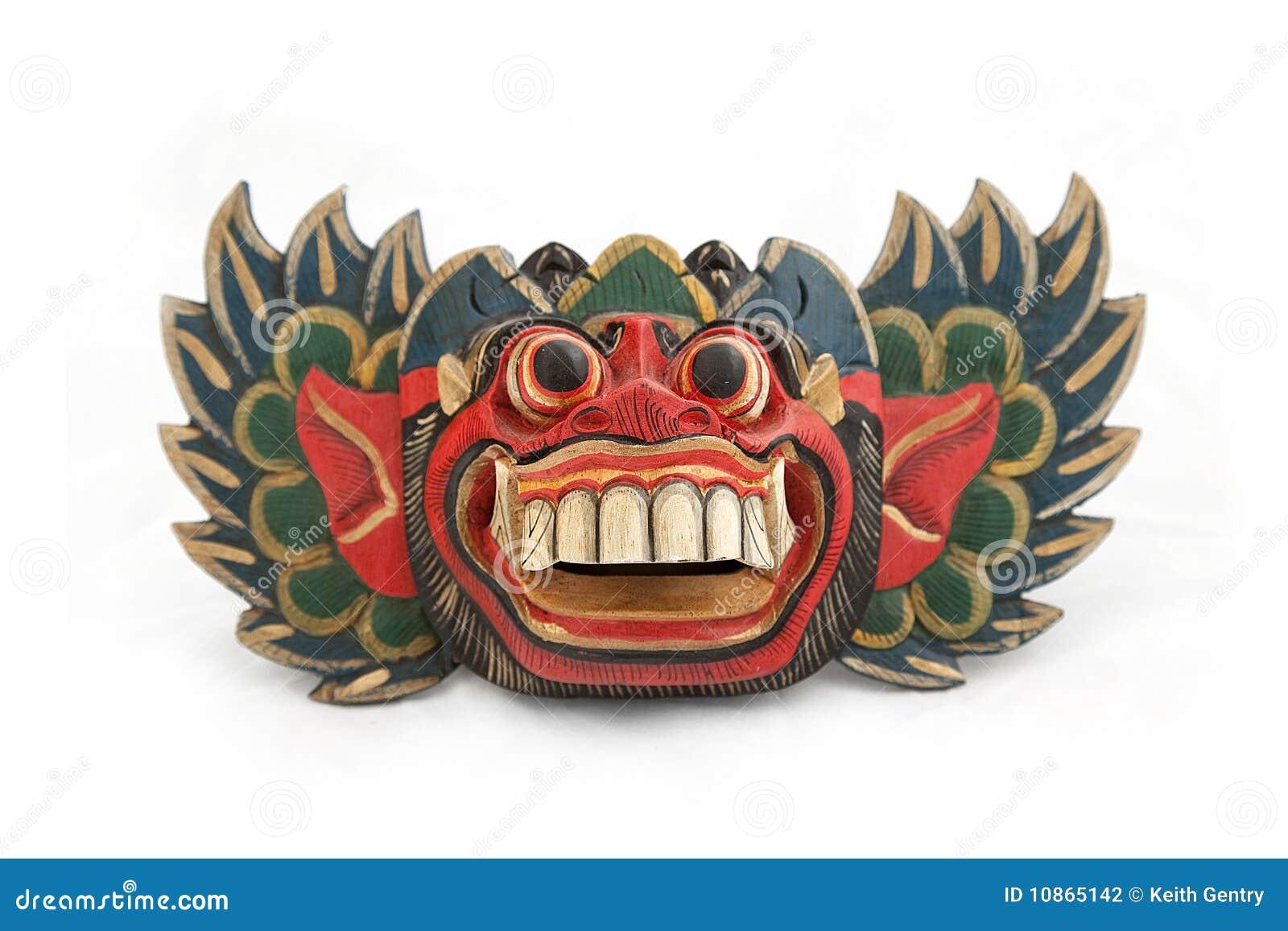 balinese barong mask stock photography image 10865142
