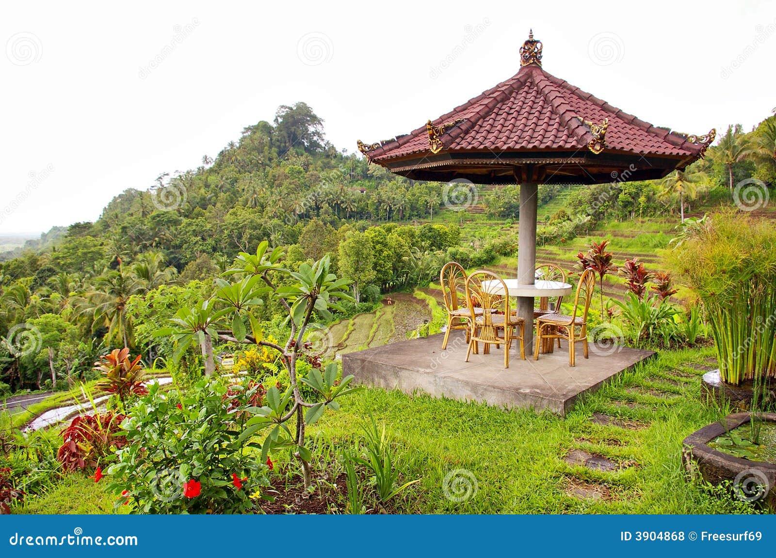 Balinese Garden Royalty Free Stock Photos - Image: 3904868