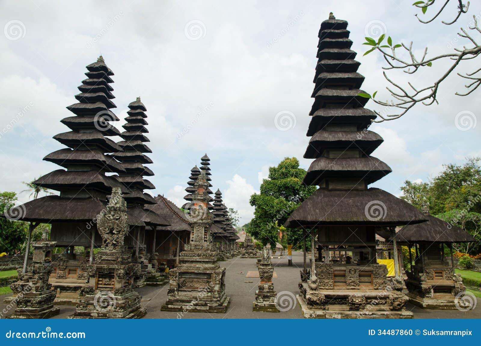 Balinese Hindu Temple Taman Ayun In Mengwi Bali Indonesia