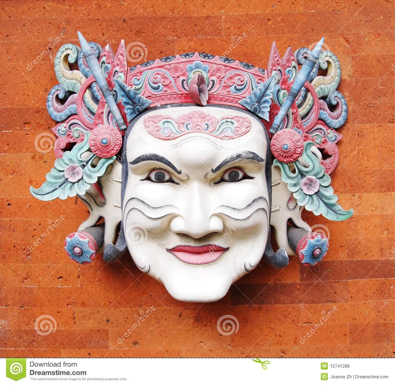 Balinese Mask, Traditional Royalty Free Stock Images ...