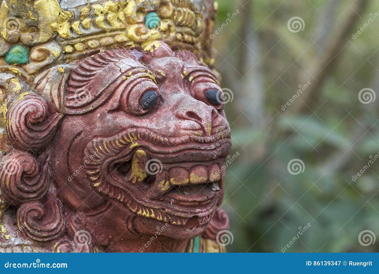 Balinese standbeelden