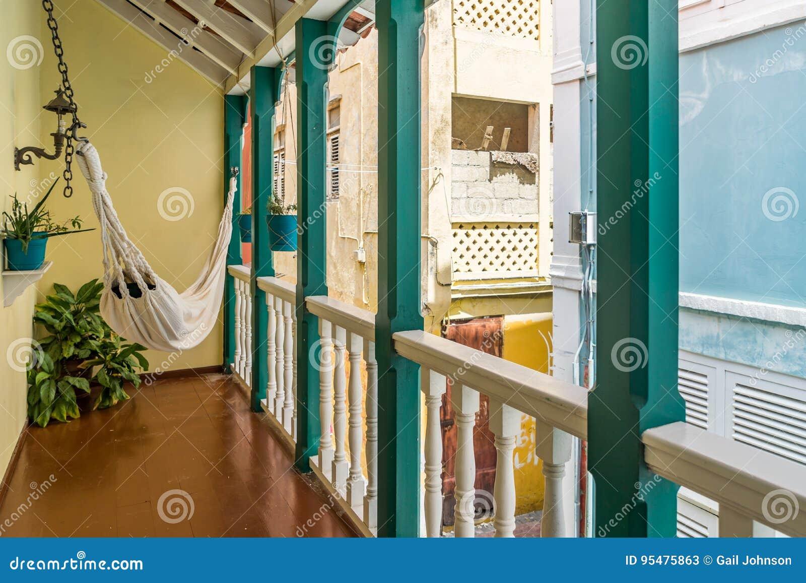 Balkon - Punda Curacao widoki
