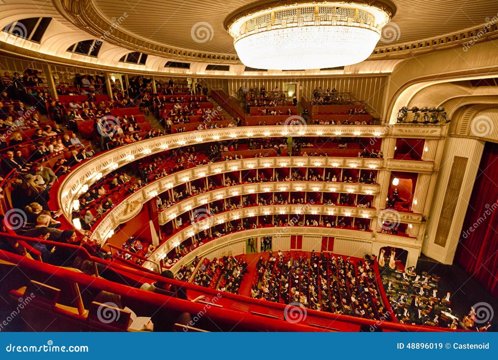 Balkons van het Huis van de Opera van Wenen
