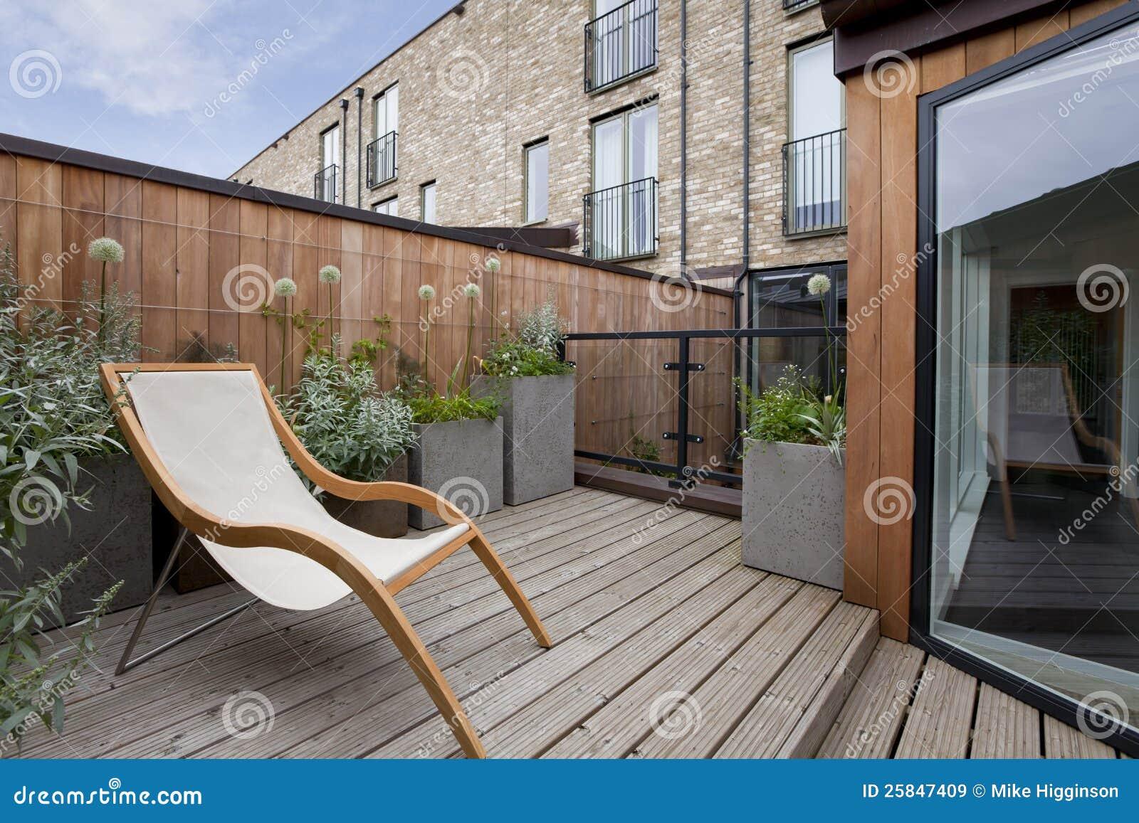 Balkonu miastowy ogród