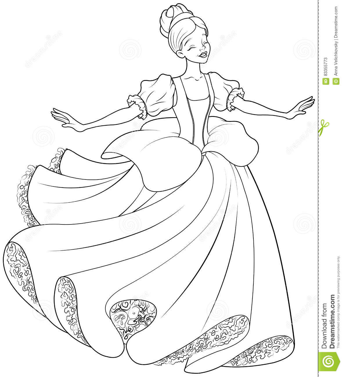 coloring pages ballet slippers alltoys for