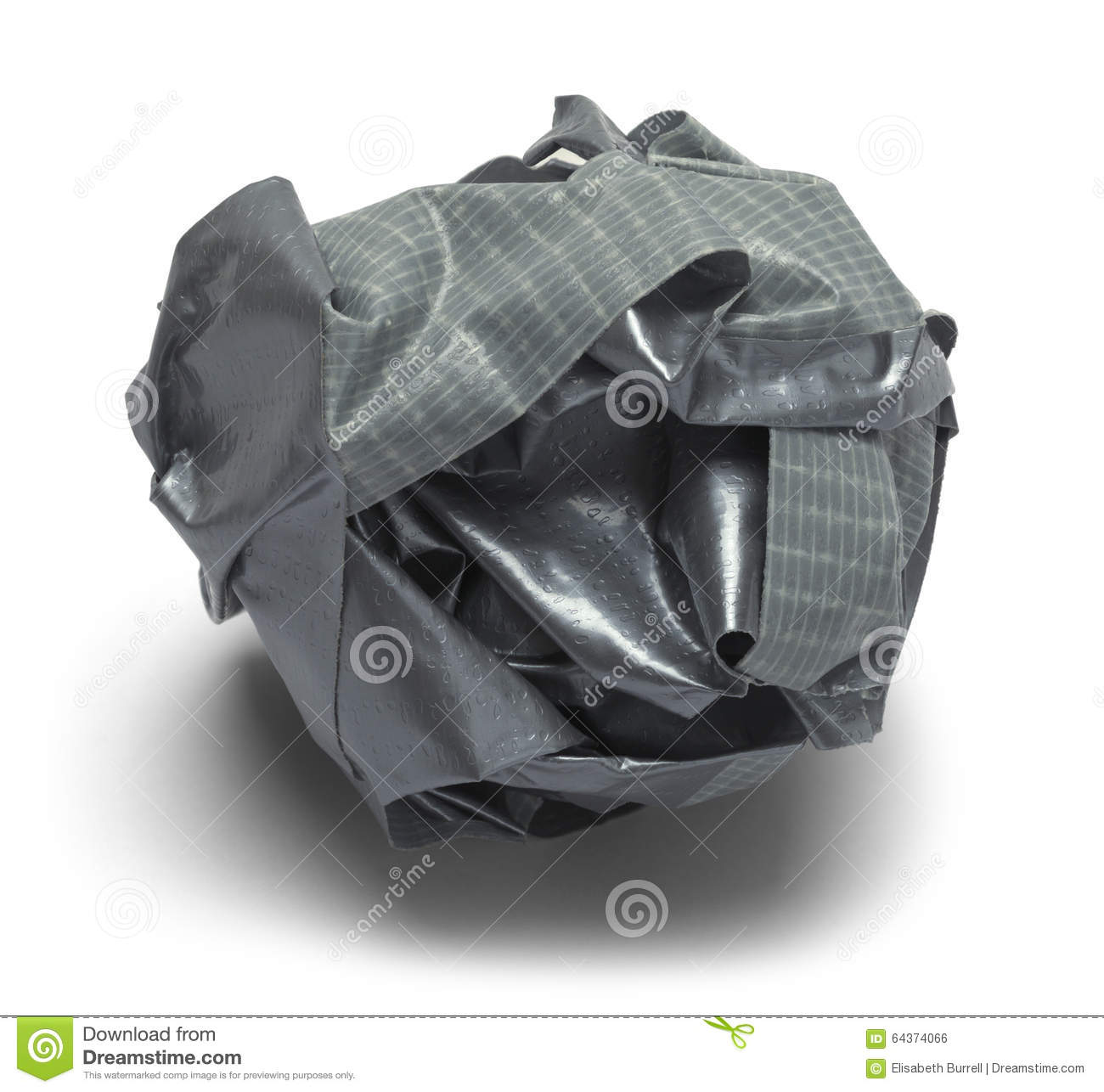 Ball Duct Tape Stock Photo Image Of Ball Dirty Grunge