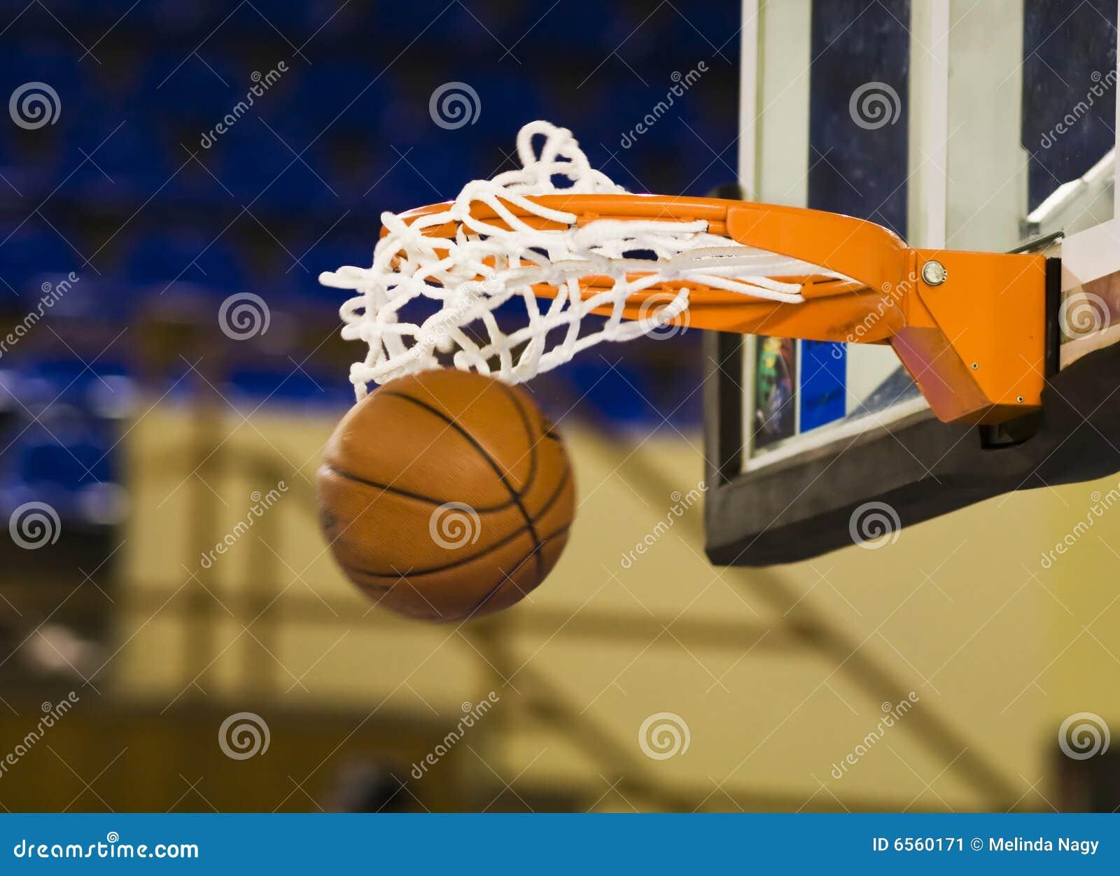 Ball in the hoop