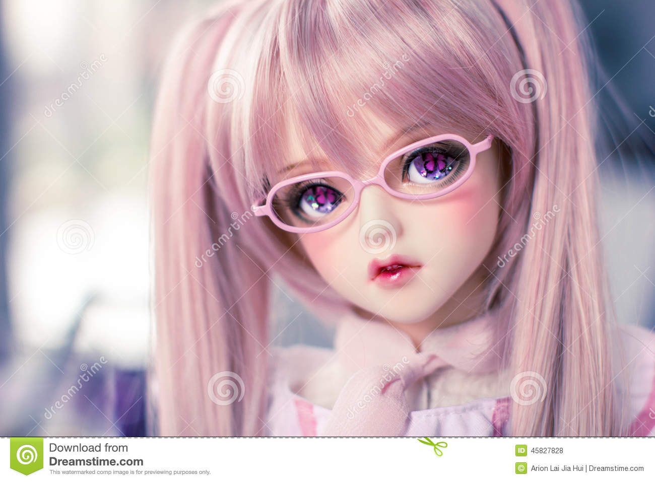 Ball Jointed Doll Butterfly Eyes