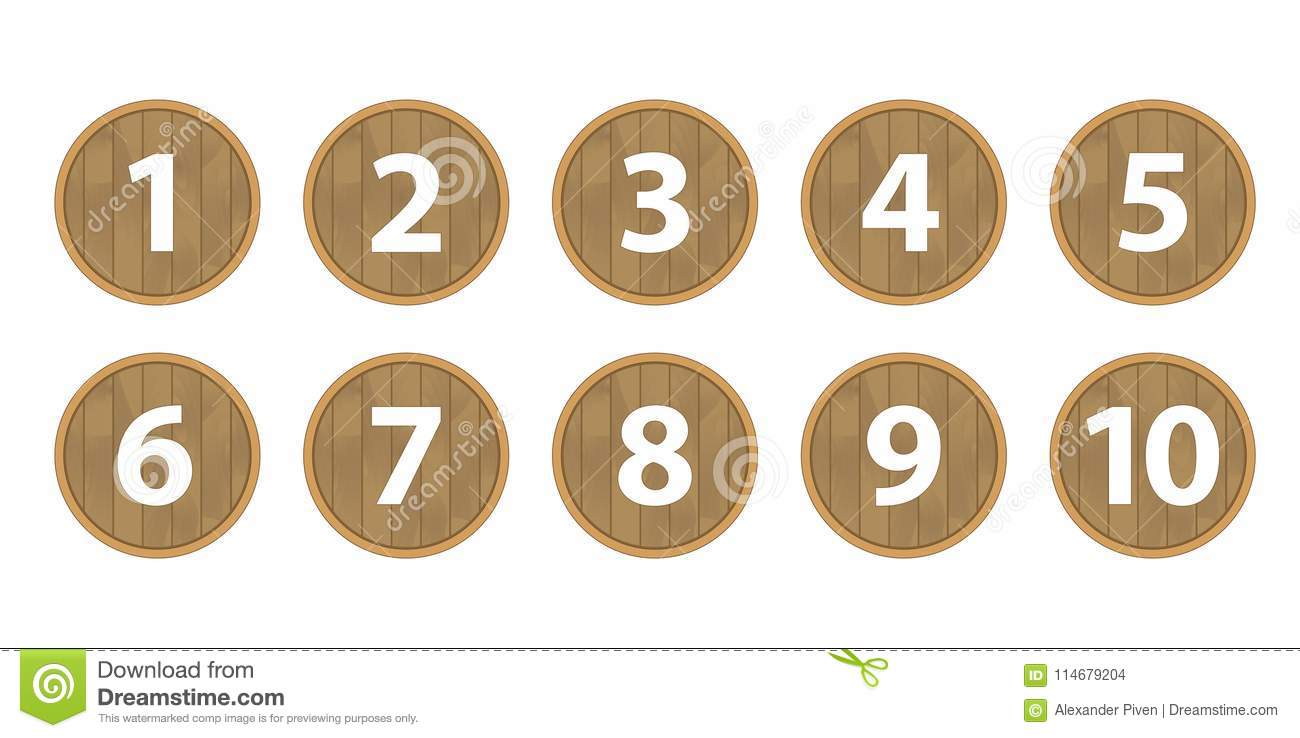 Ball Lottery Numbers  Lotto Bingo Game Luck Concept Vector