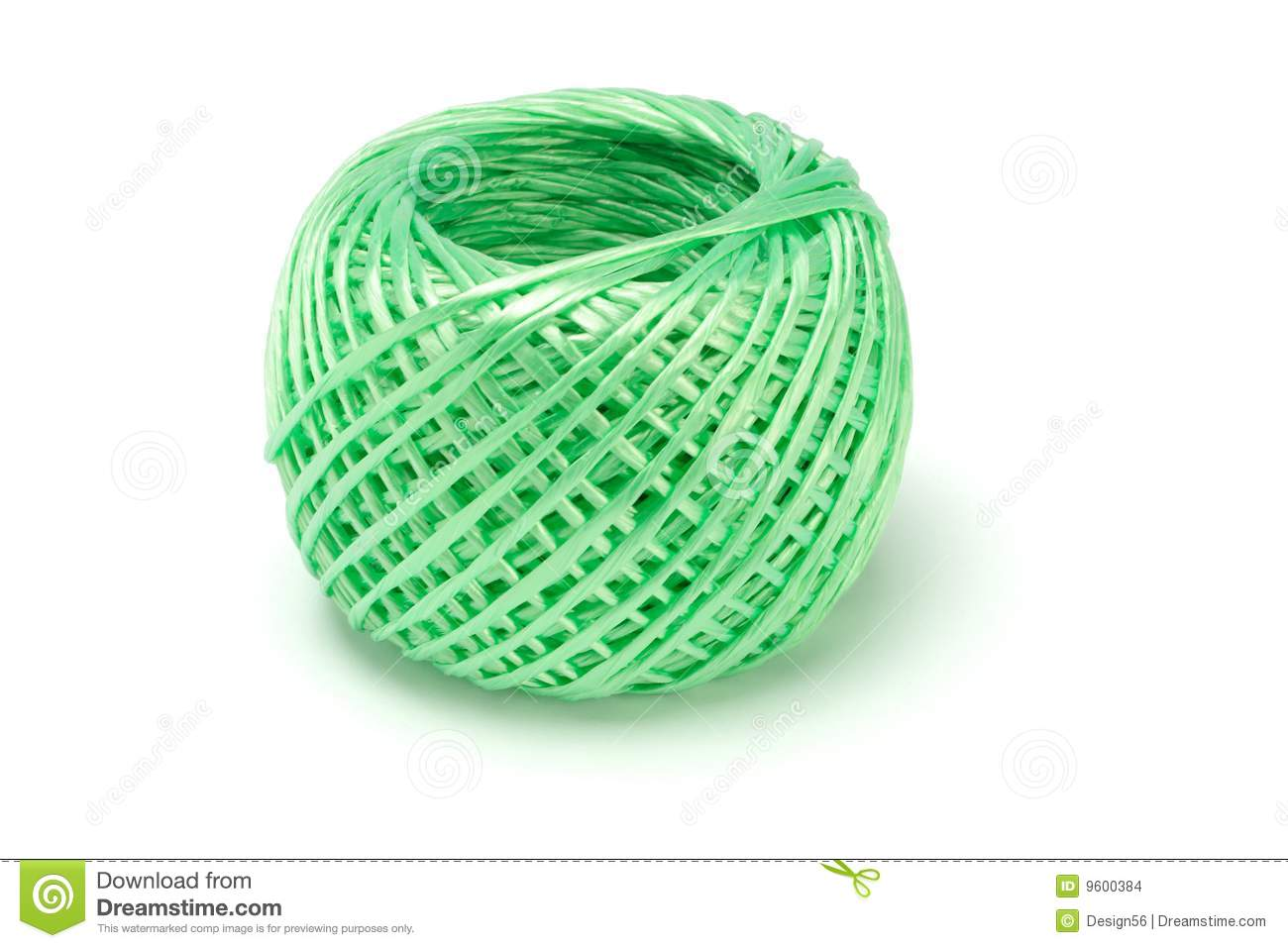 Ball Of Nylon String Stock Images - Image: 9600384