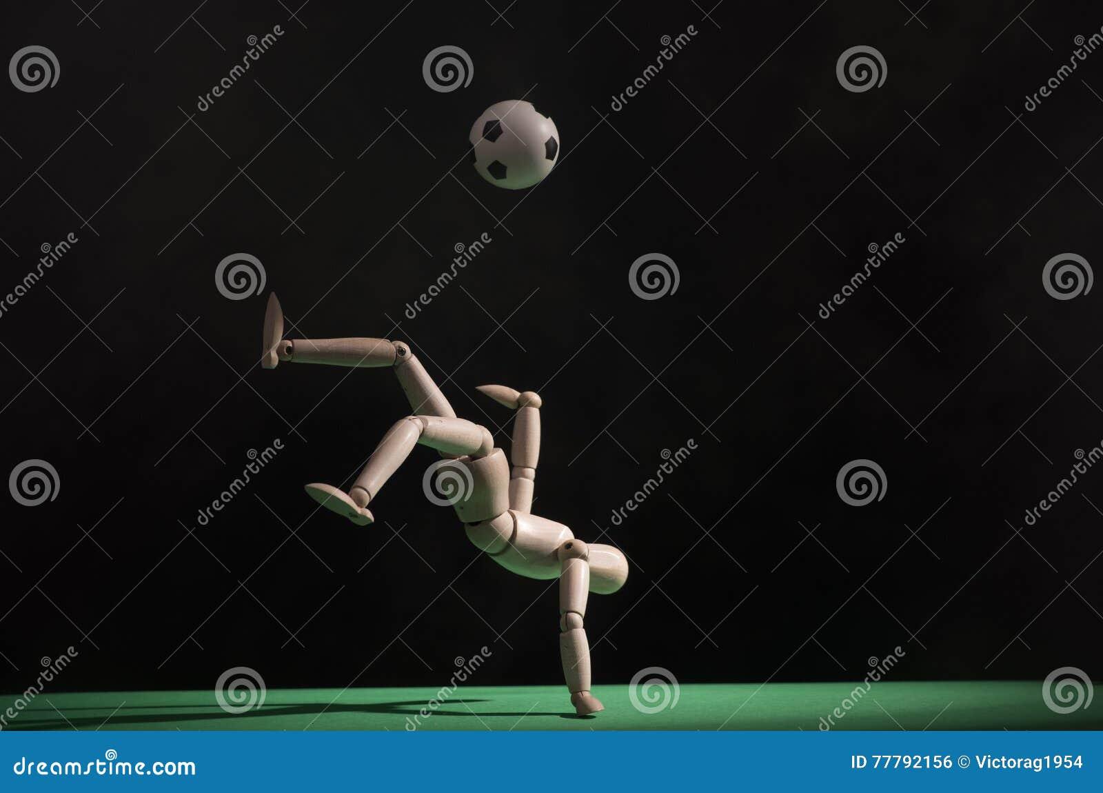 Ball player soccer