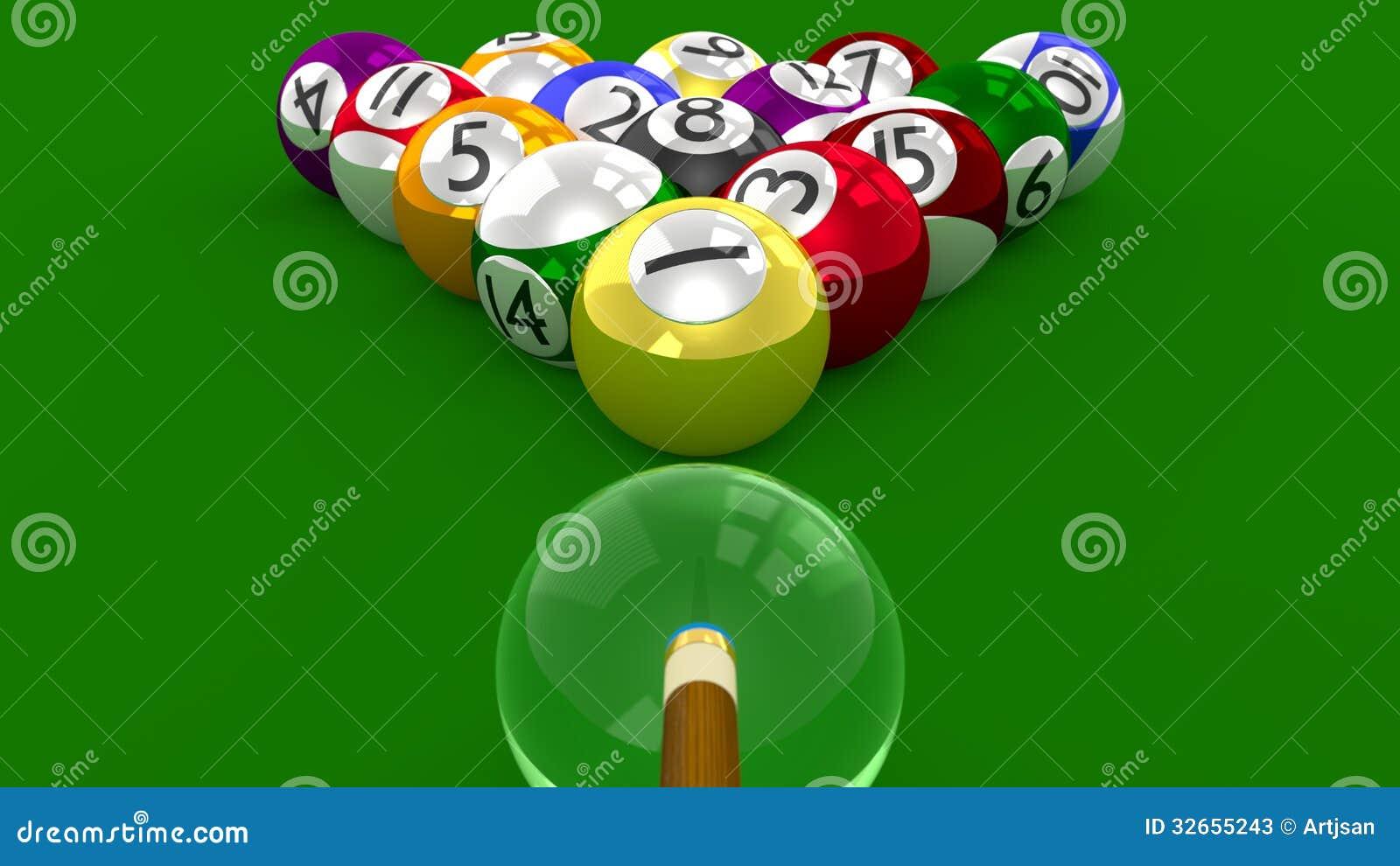 8 ball pool 3d game all ball randomly racked ready for for 8 ball pool design