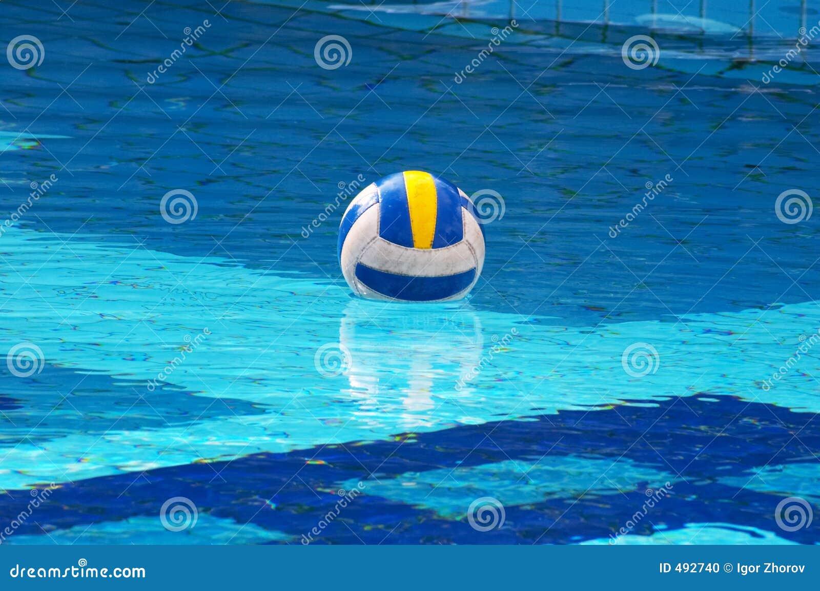 Ball pool swimming