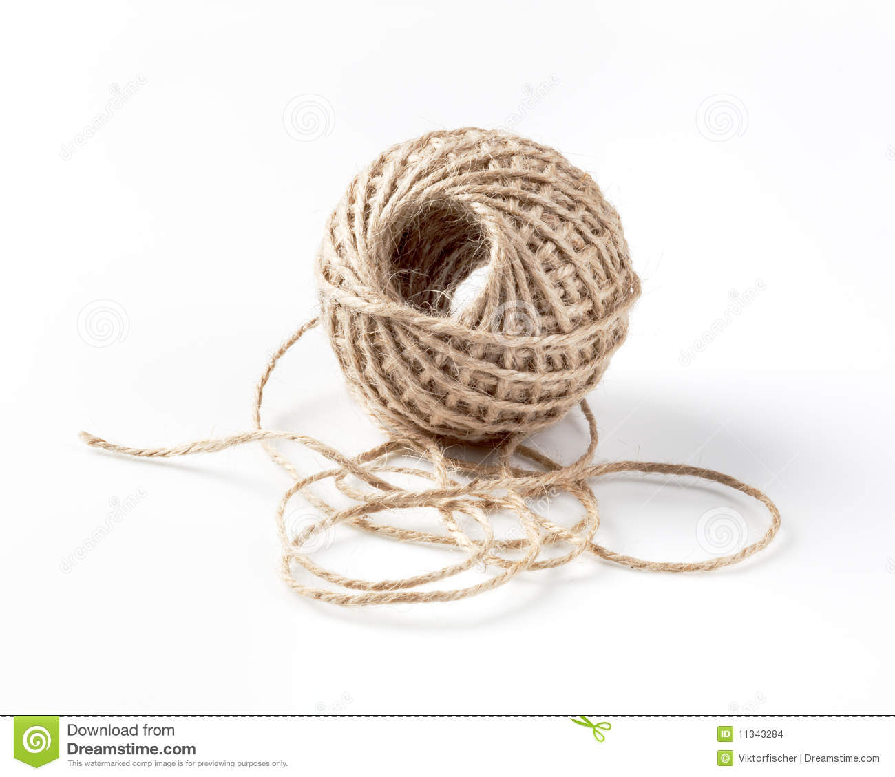 Ball of string stock photo. Image of thread, studio, pack ...