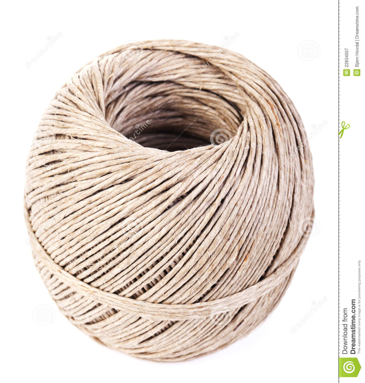 Ball Of String Stock Image Image Of Background Rolled