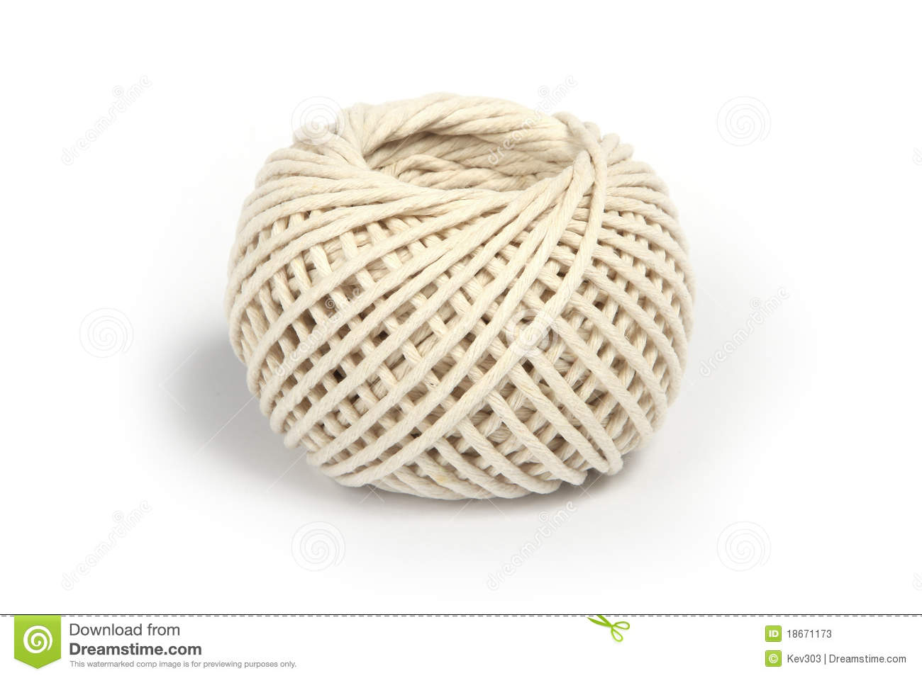 Ball Of Twine Or String Stock Image Image Of Wound