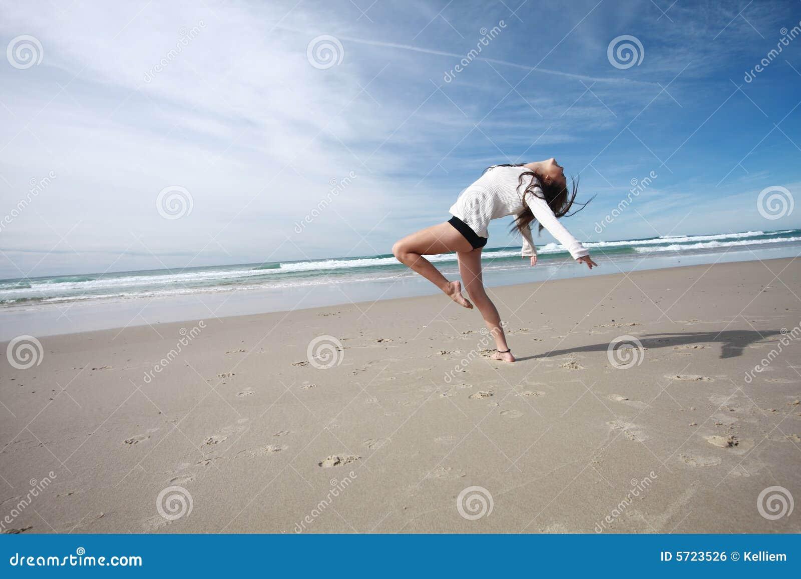 Ballando sulla spiaggia