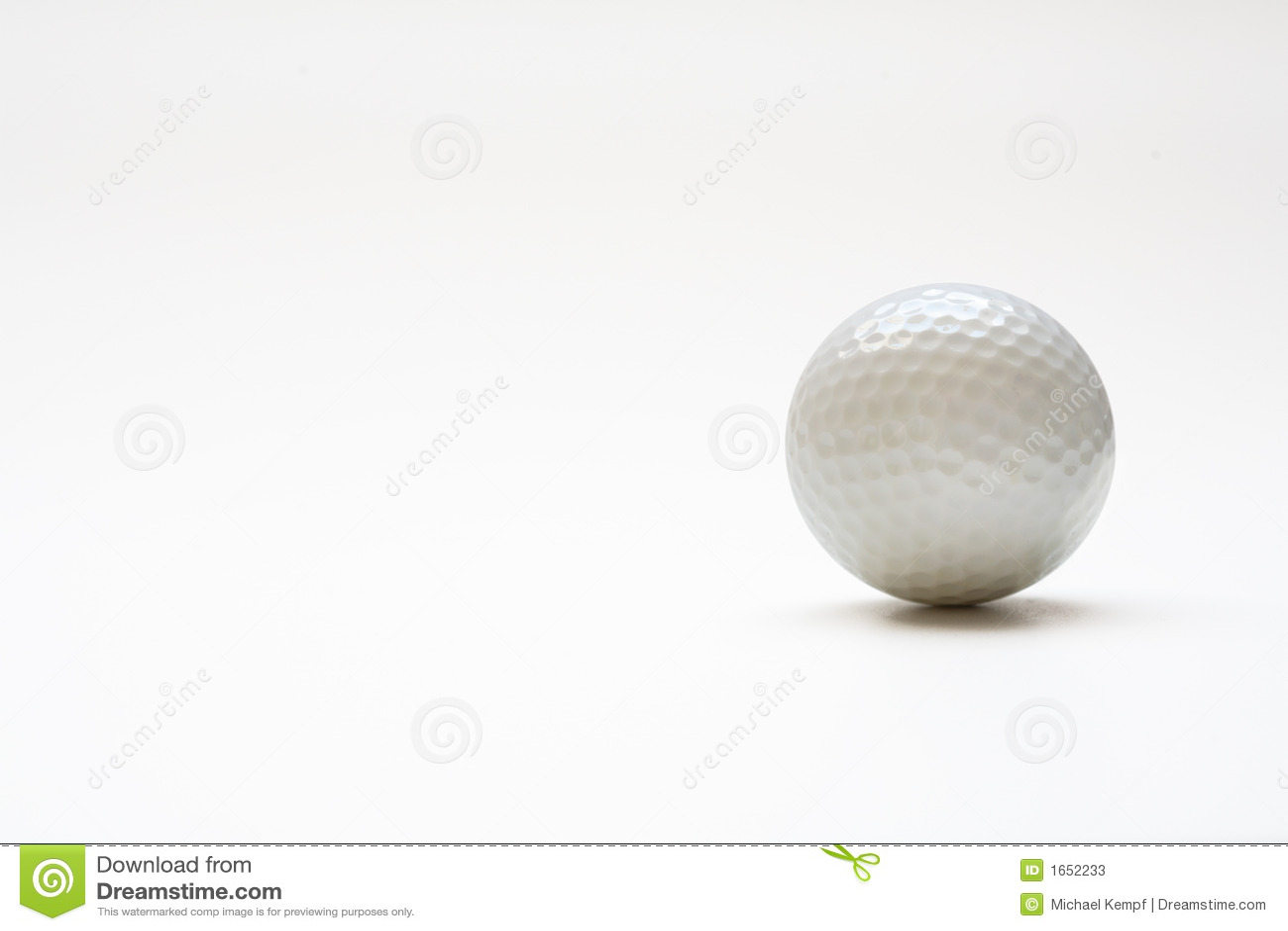 balle de golf photos stock image 1652233. Black Bedroom Furniture Sets. Home Design Ideas
