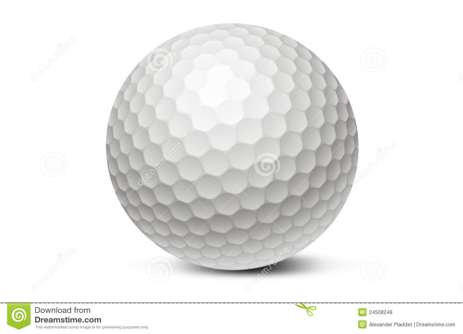 balle de golf photo stock image du concurrence loisirs 24508248. Black Bedroom Furniture Sets. Home Design Ideas