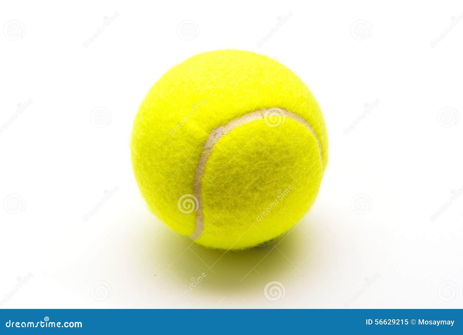 ed894e30c1380 Balle De Tennis Verte Sur Le Fond Blanc Image stock - Image du ...