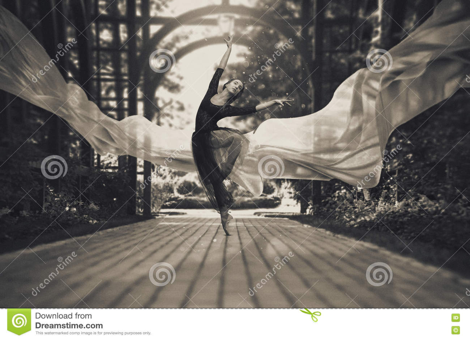 Ballerina στις οδούς