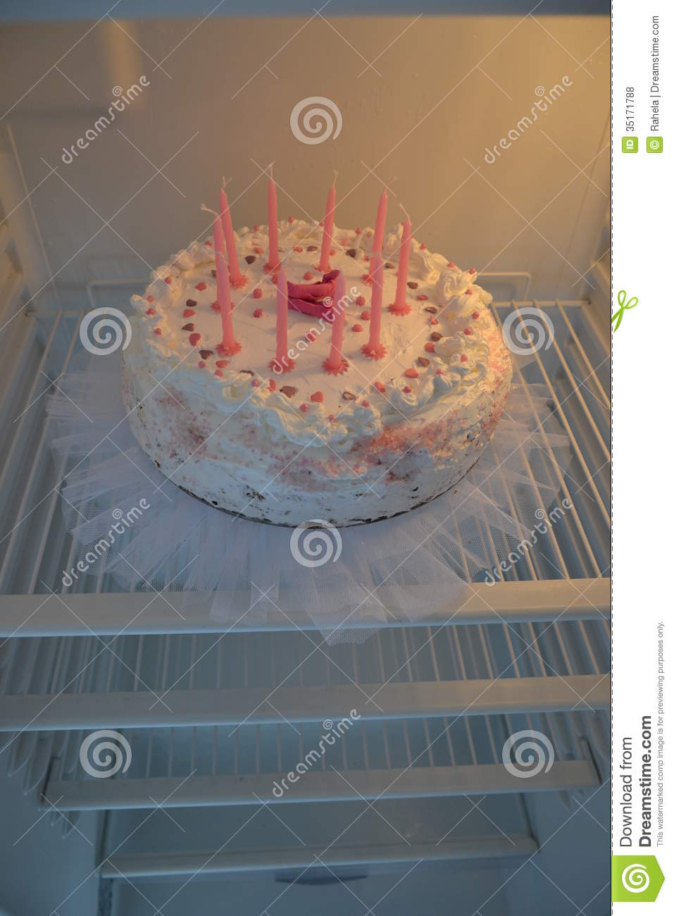 Ballerina Birthday Cake Stock Photo Image Of Candles