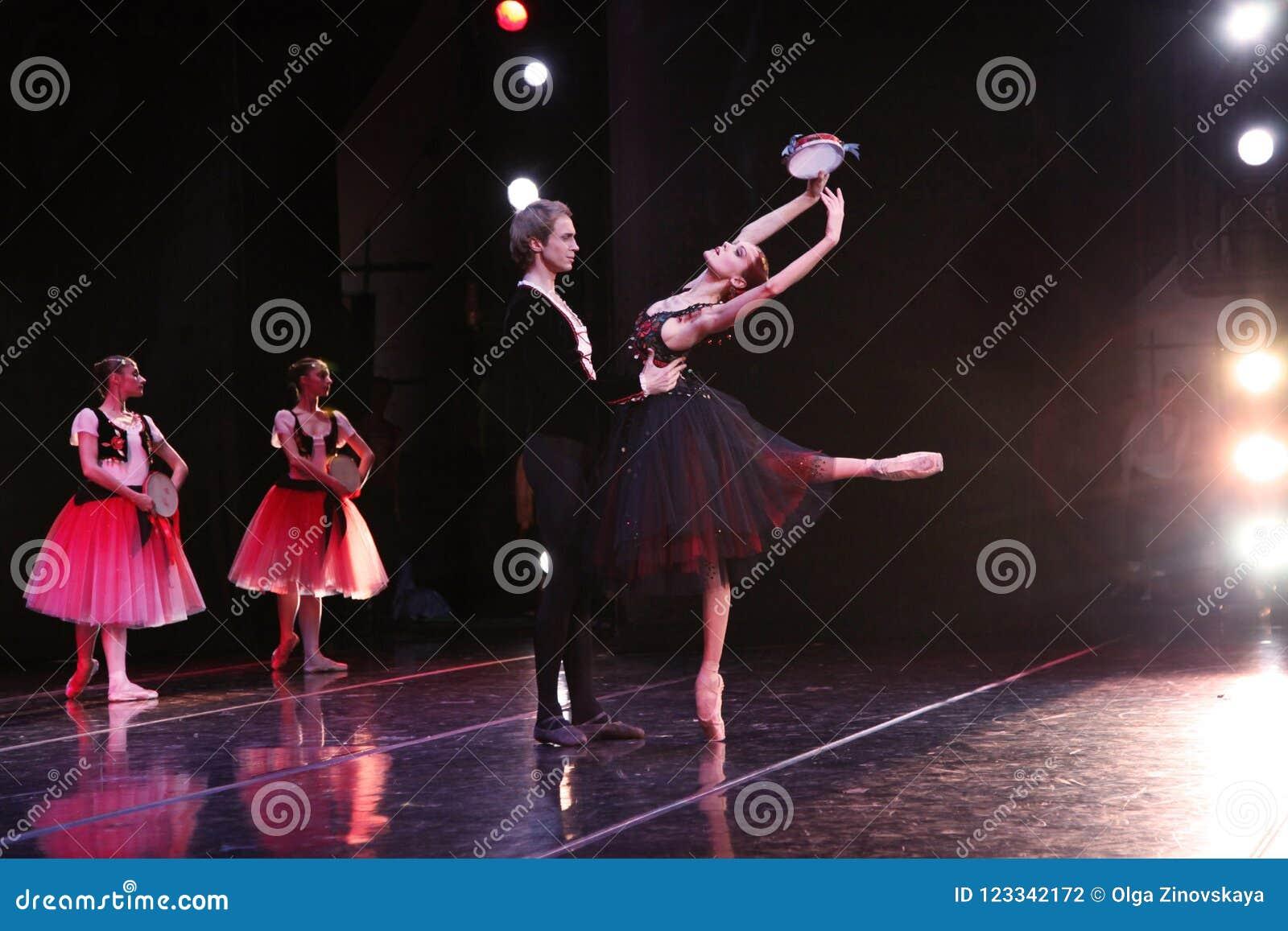 Ballerina di Prima del teatro Ulyana Lopatkina di Mariinsky e così