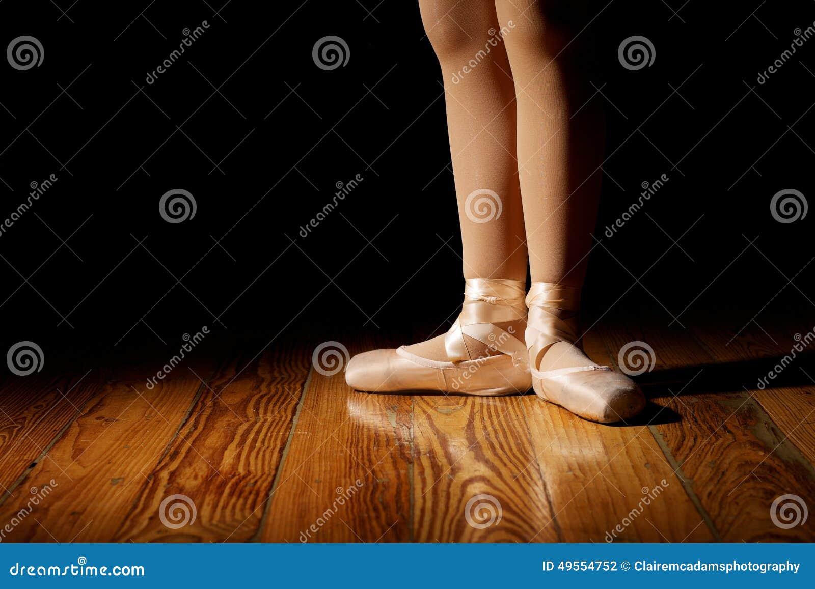 Ballerina Feet in First