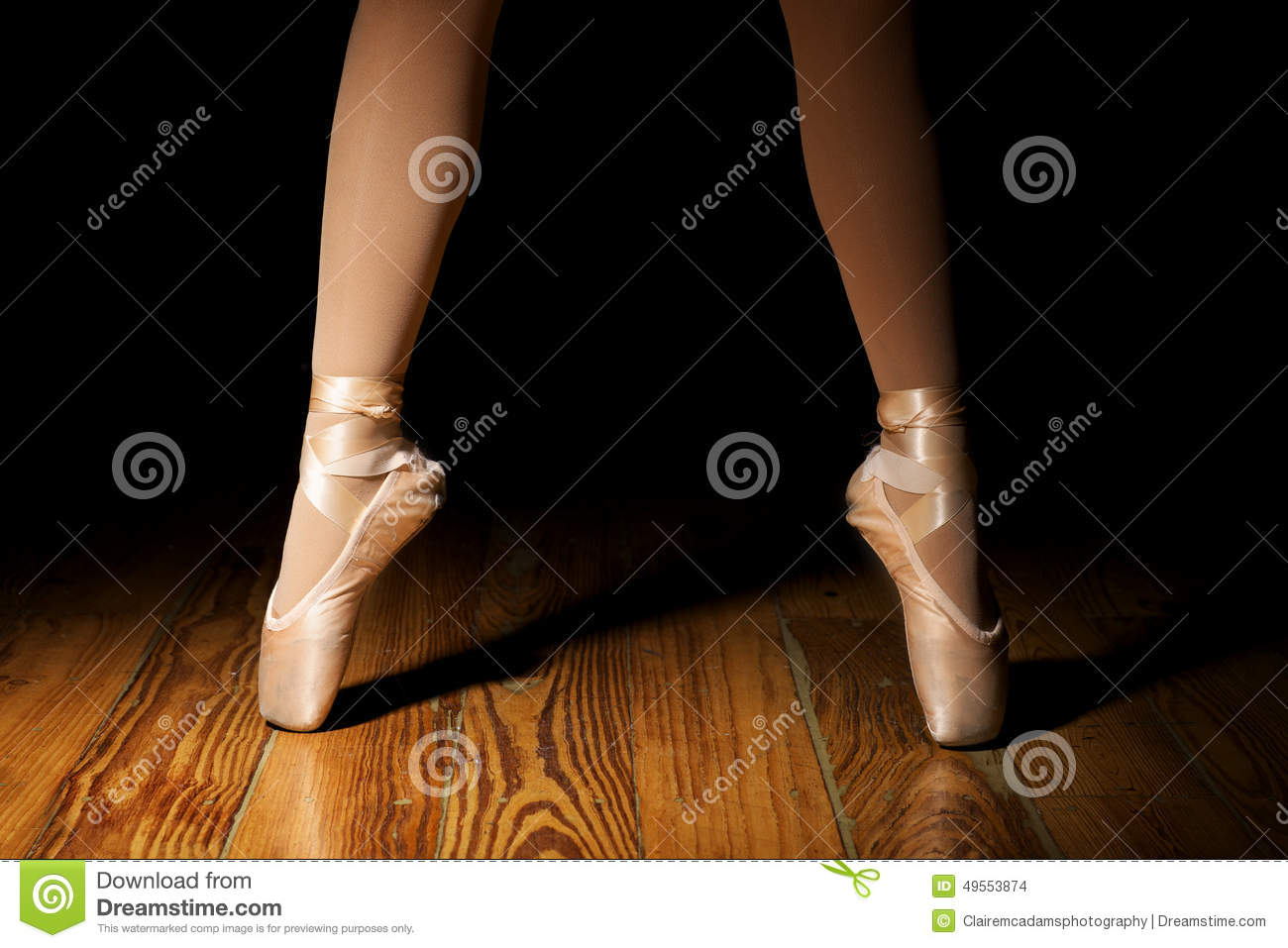Ballerina Feet, second position