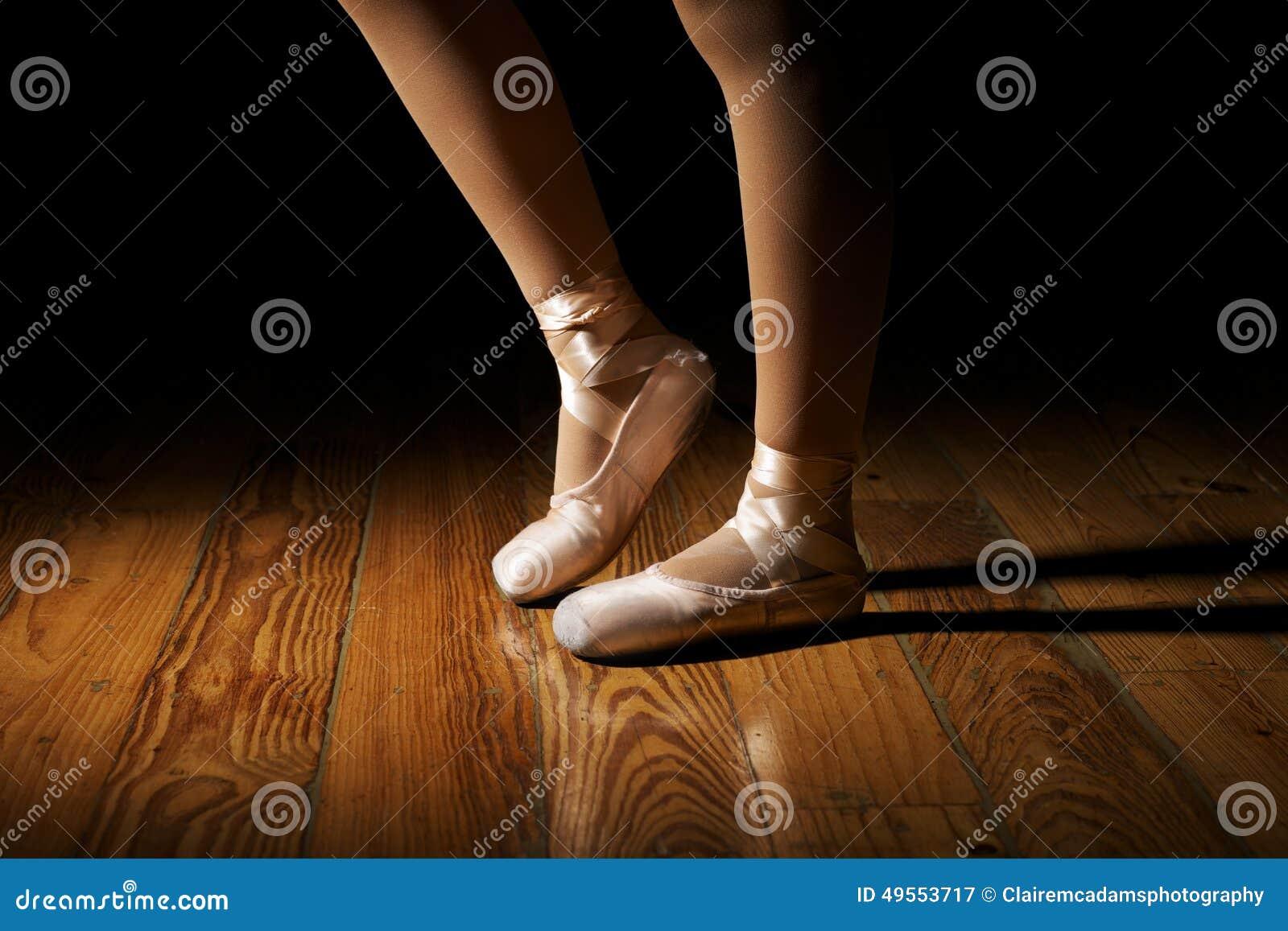 Ballerina Feet Stretching