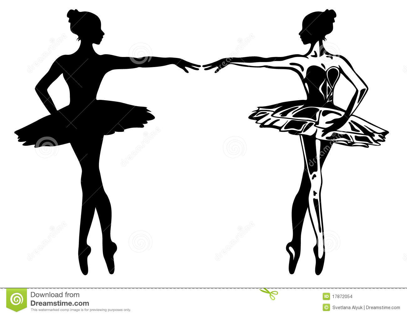 Ballerina Vector Stock Images - Image: 17872054