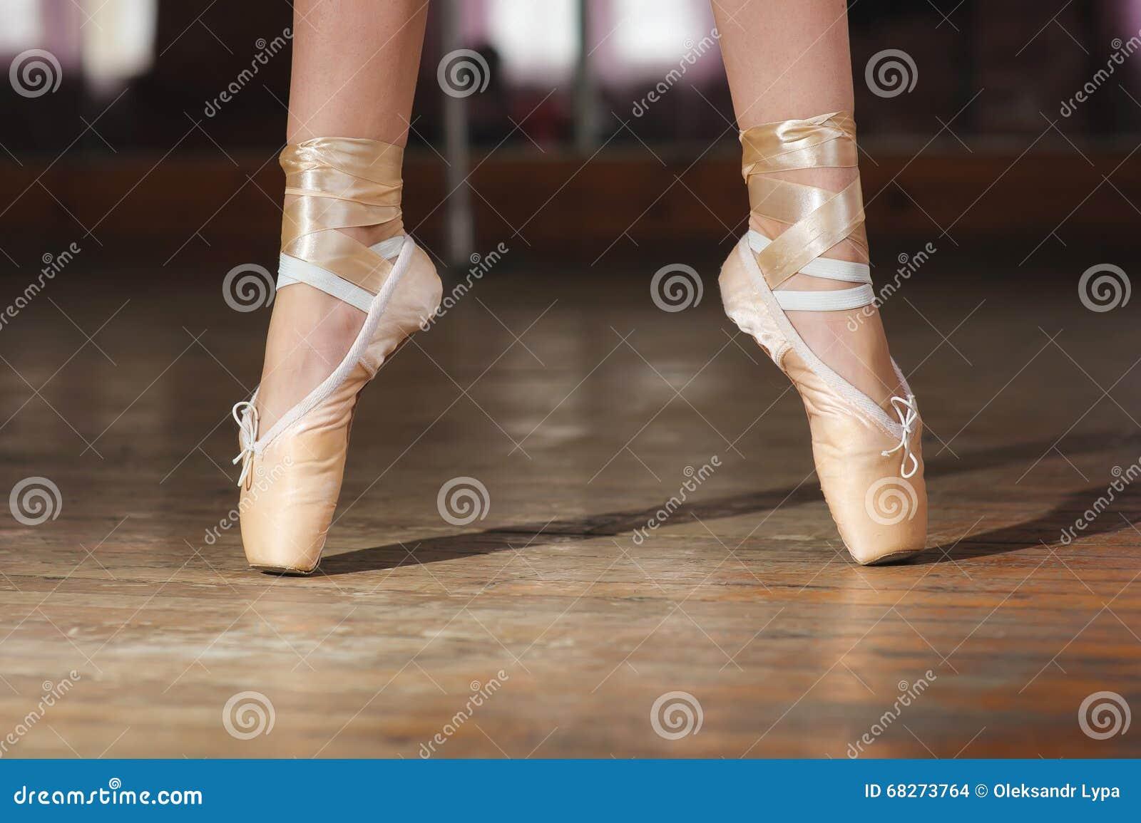 Ballerine ou danseur dans le pointe