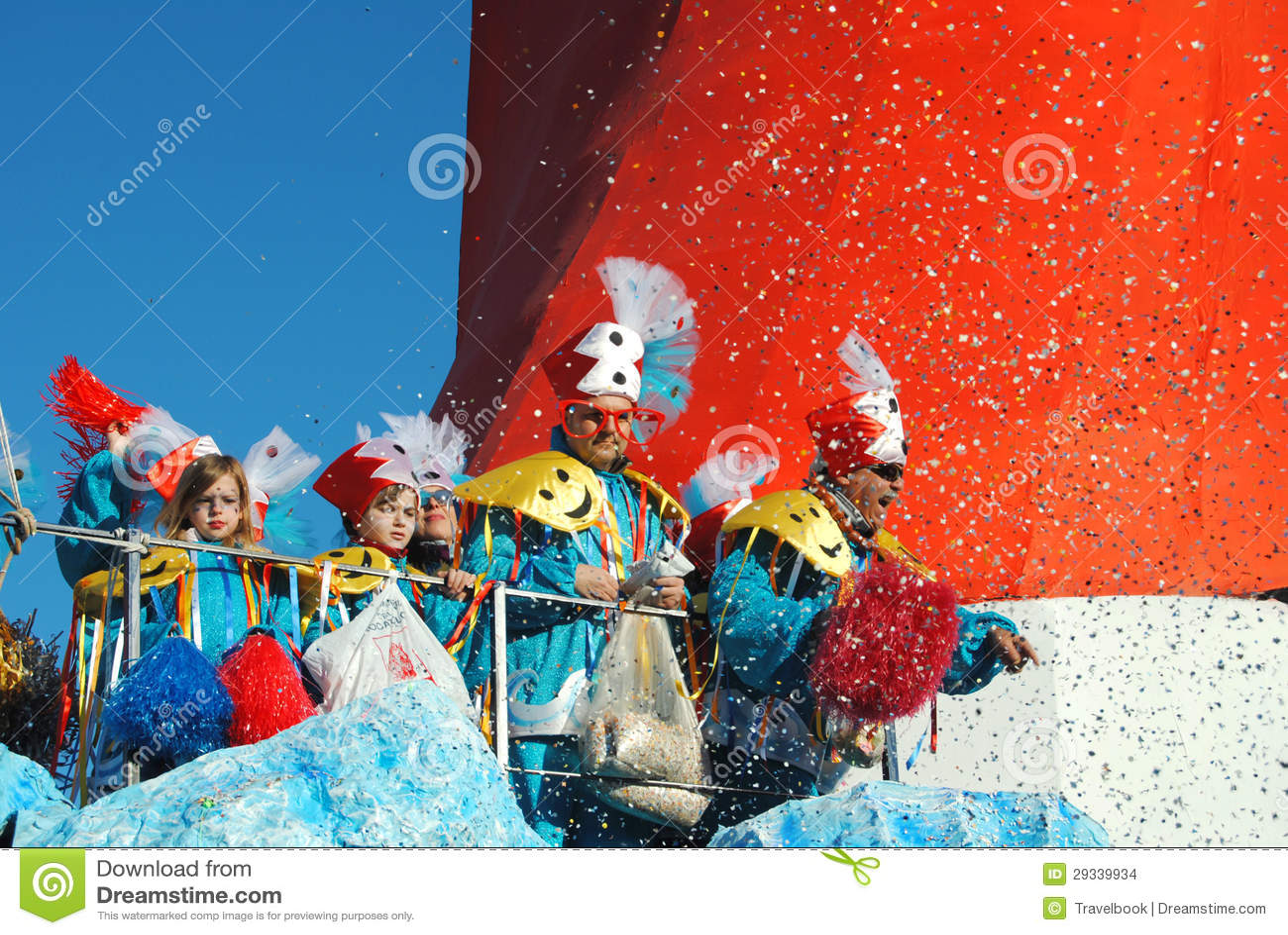 Ballerini del carnevale di Viareggio