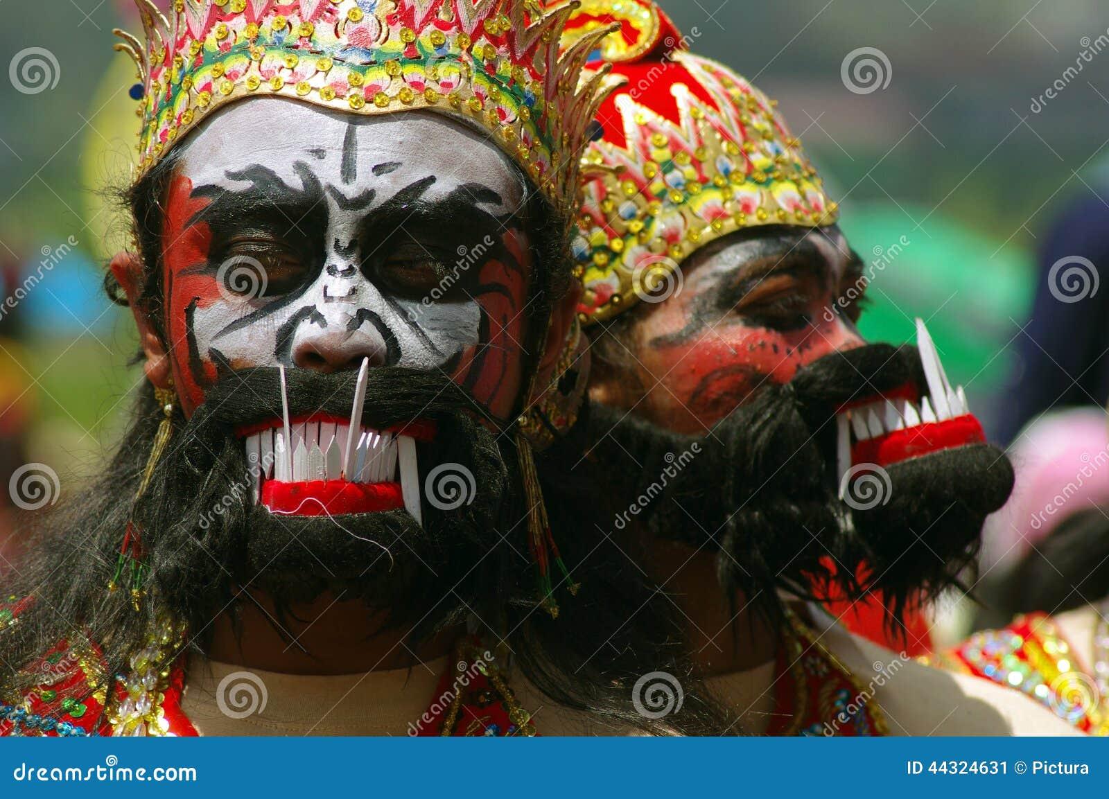 Ballerino di Warok in Java