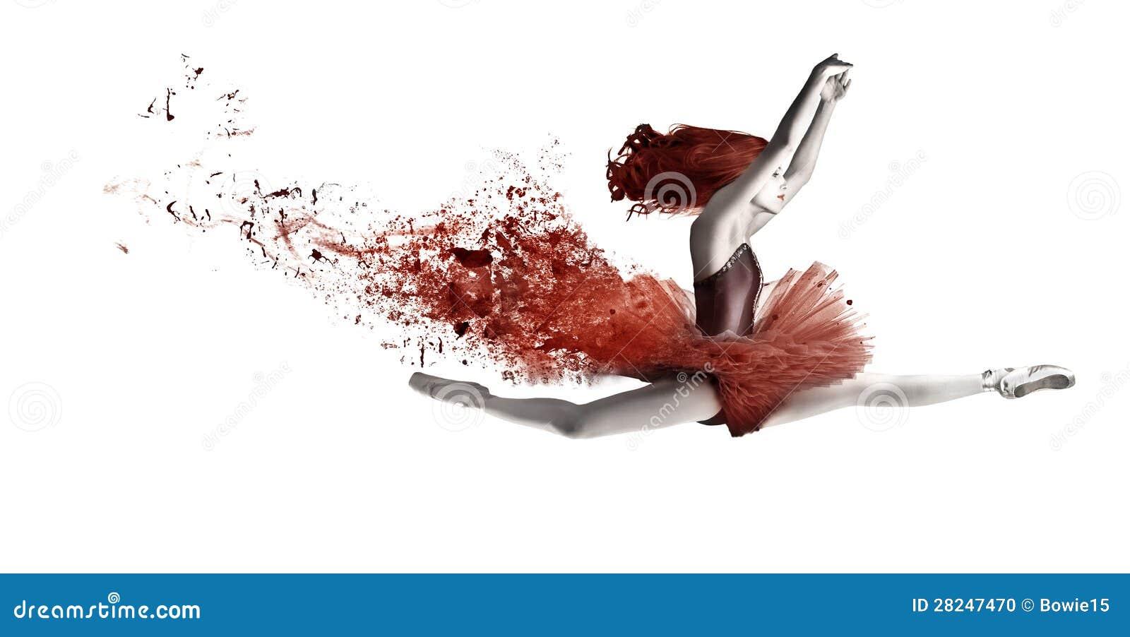 Ballerino rosso