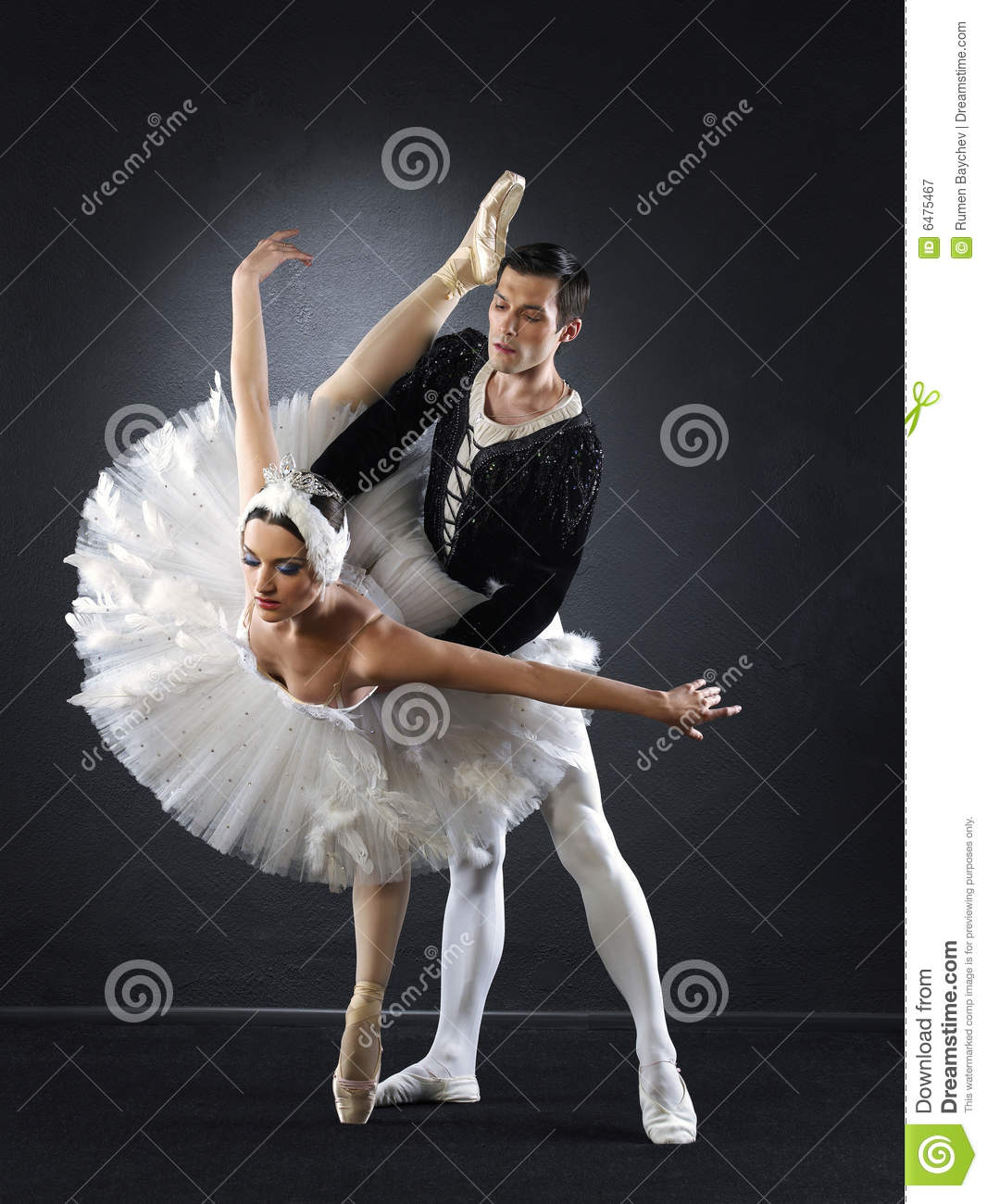 ballet dancers royalty free stock photography