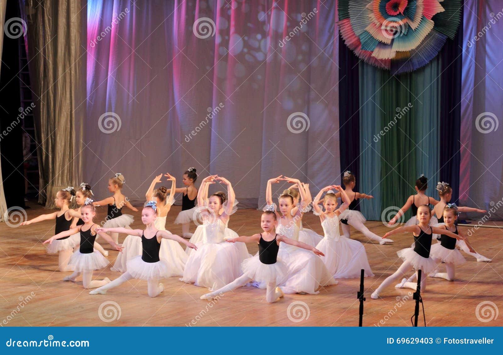 Ballet de danse d enfants