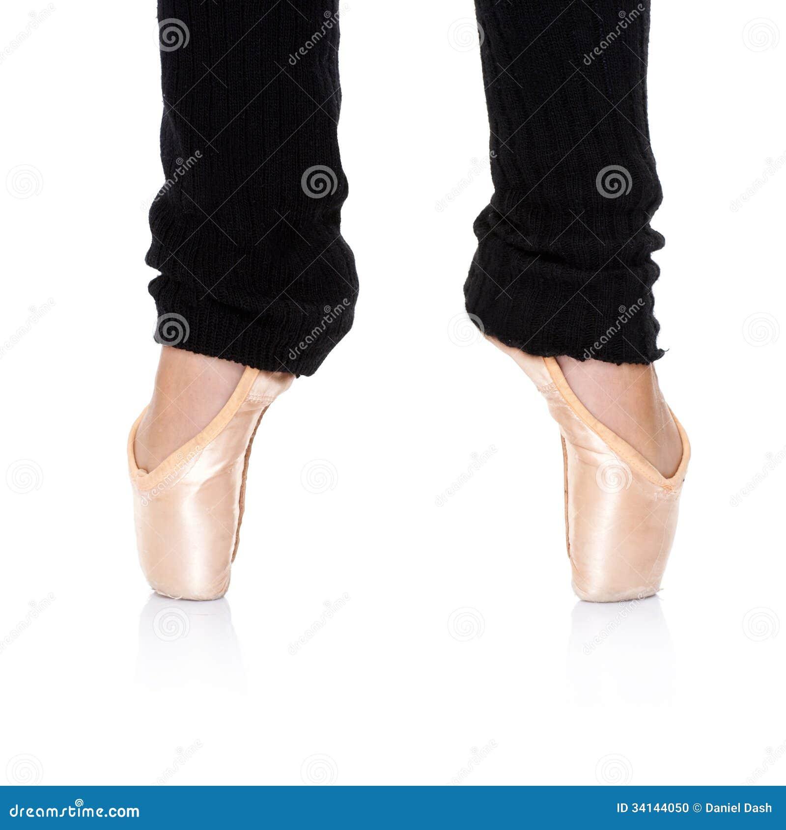 ballet feet position en pointe stock photo image of balance