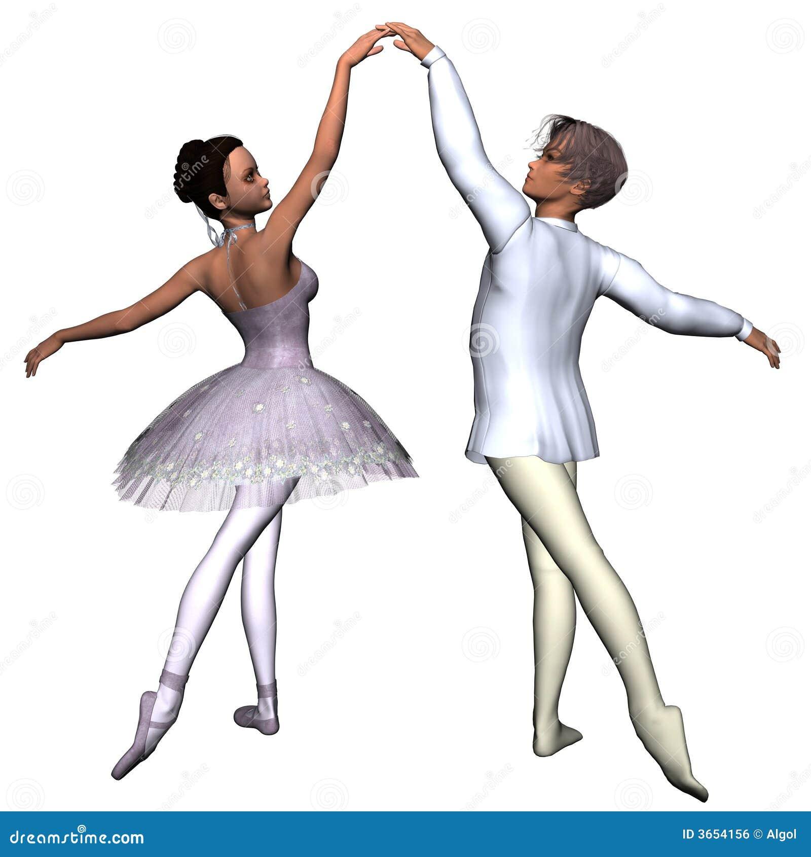 ballet pas de deux 1 royalty free stock image image 3654156. Black Bedroom Furniture Sets. Home Design Ideas