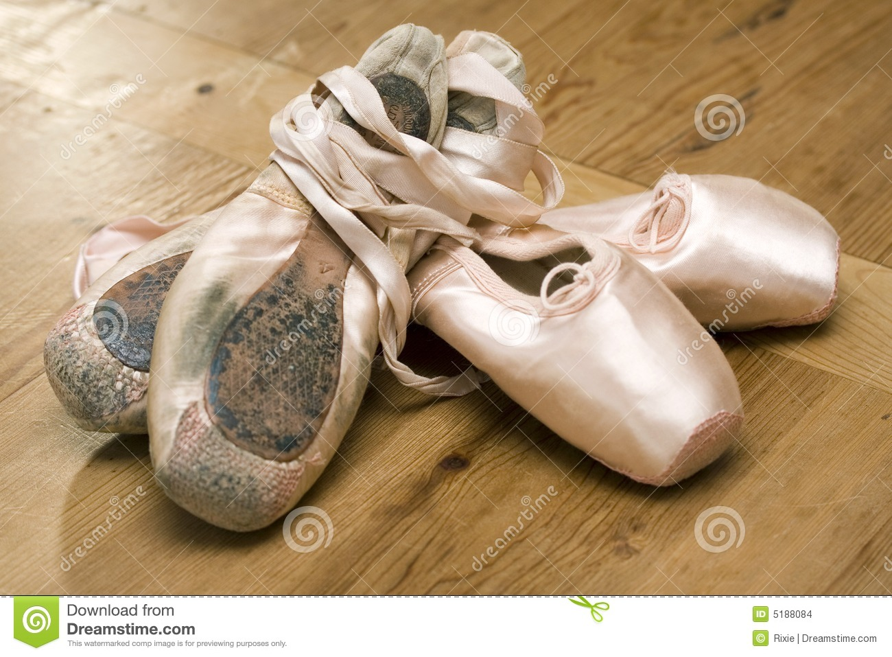 Ballet shoes old and new stock photo image of ballerina for What to do with old mailbox
