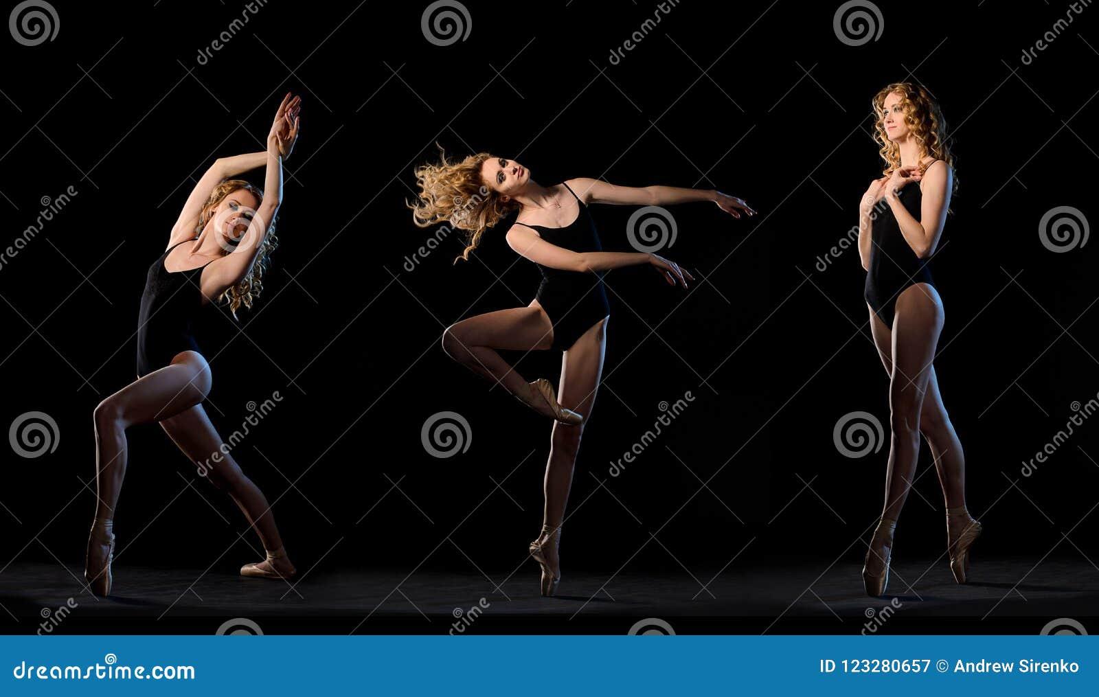 Balletdanser in motie