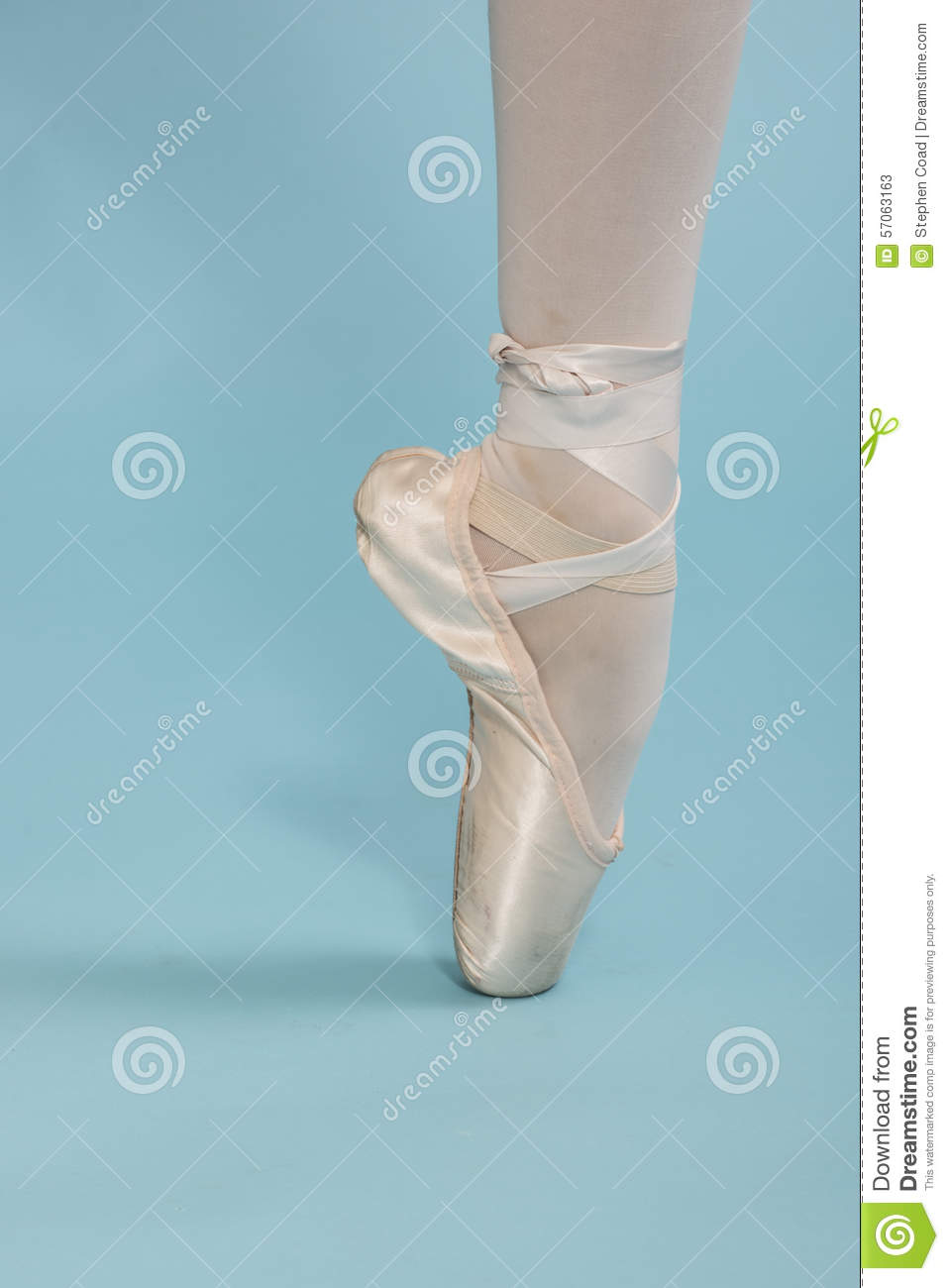 Balletdanser On Pointe