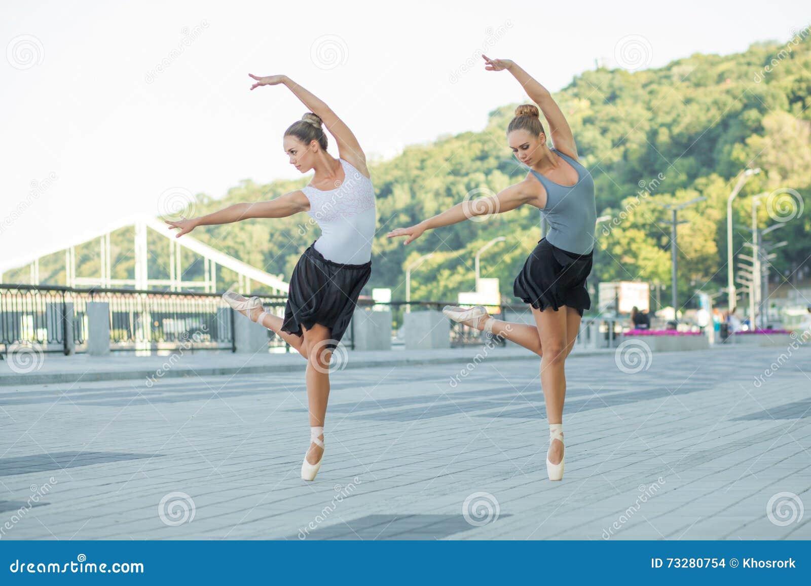 Ballett in der Stadt