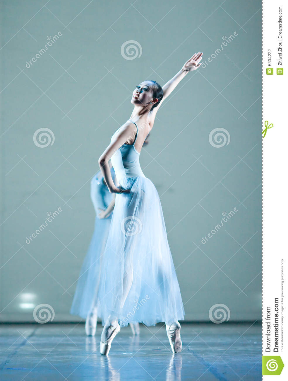 Download Balletto fotografia editoriale. Immagine di balletto, femmina - 5304222