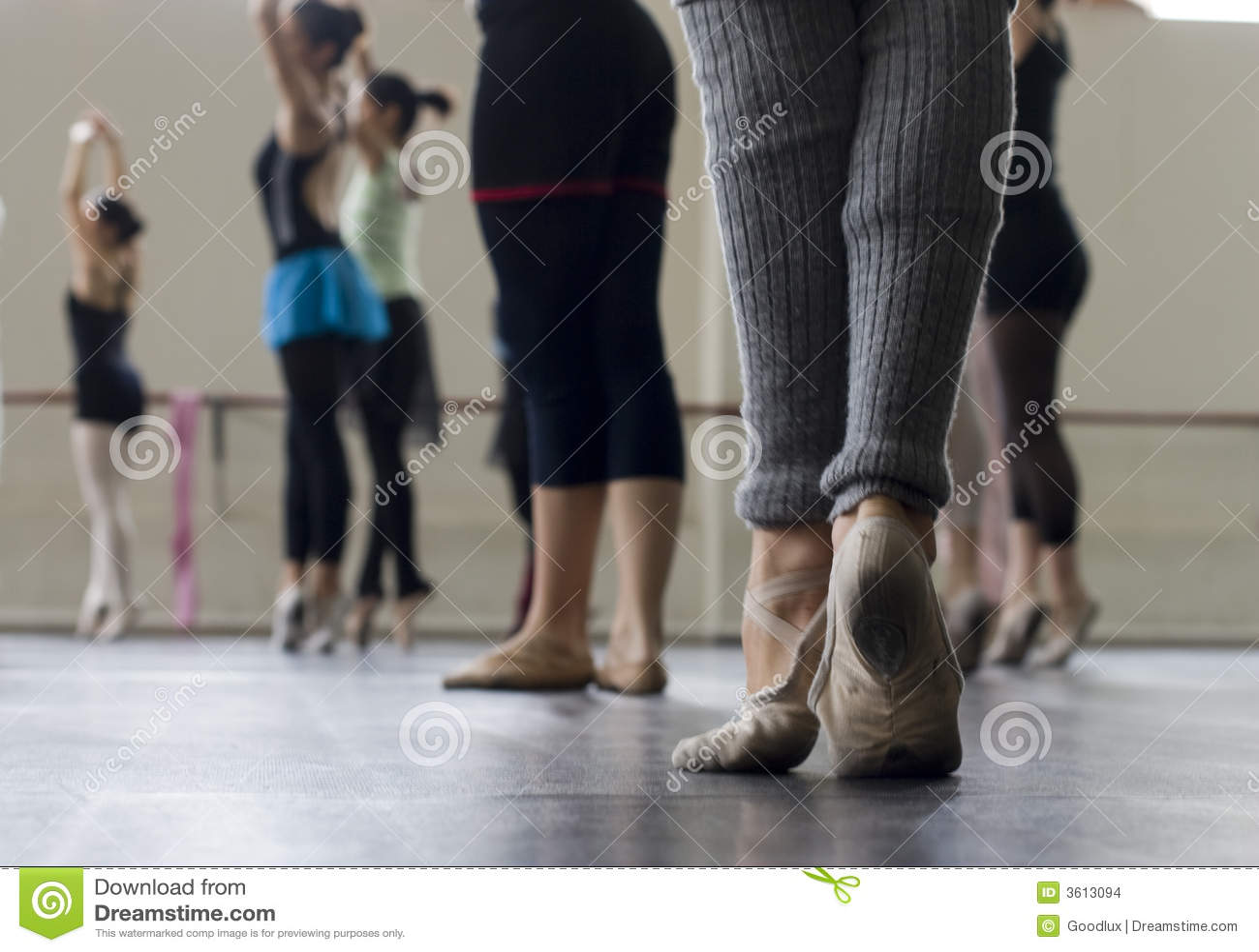 Balletttanzpraxis