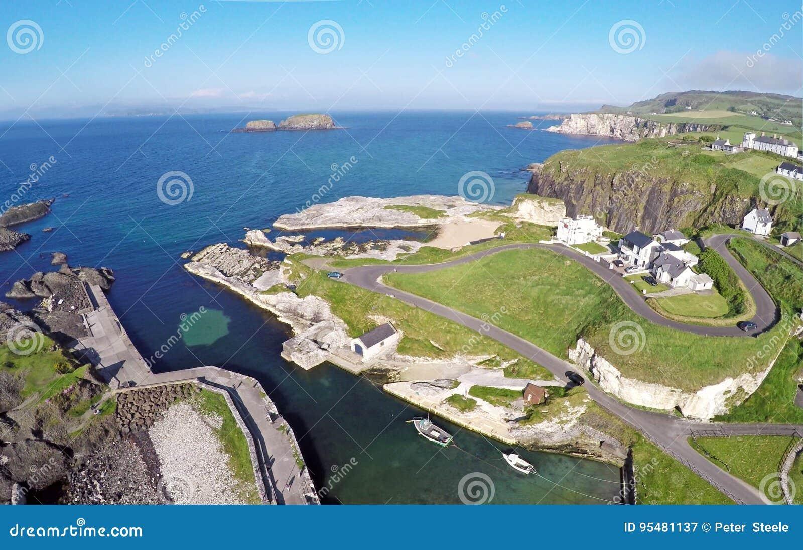 Ballintoy schronienie Co Antrim Północny - Ireland